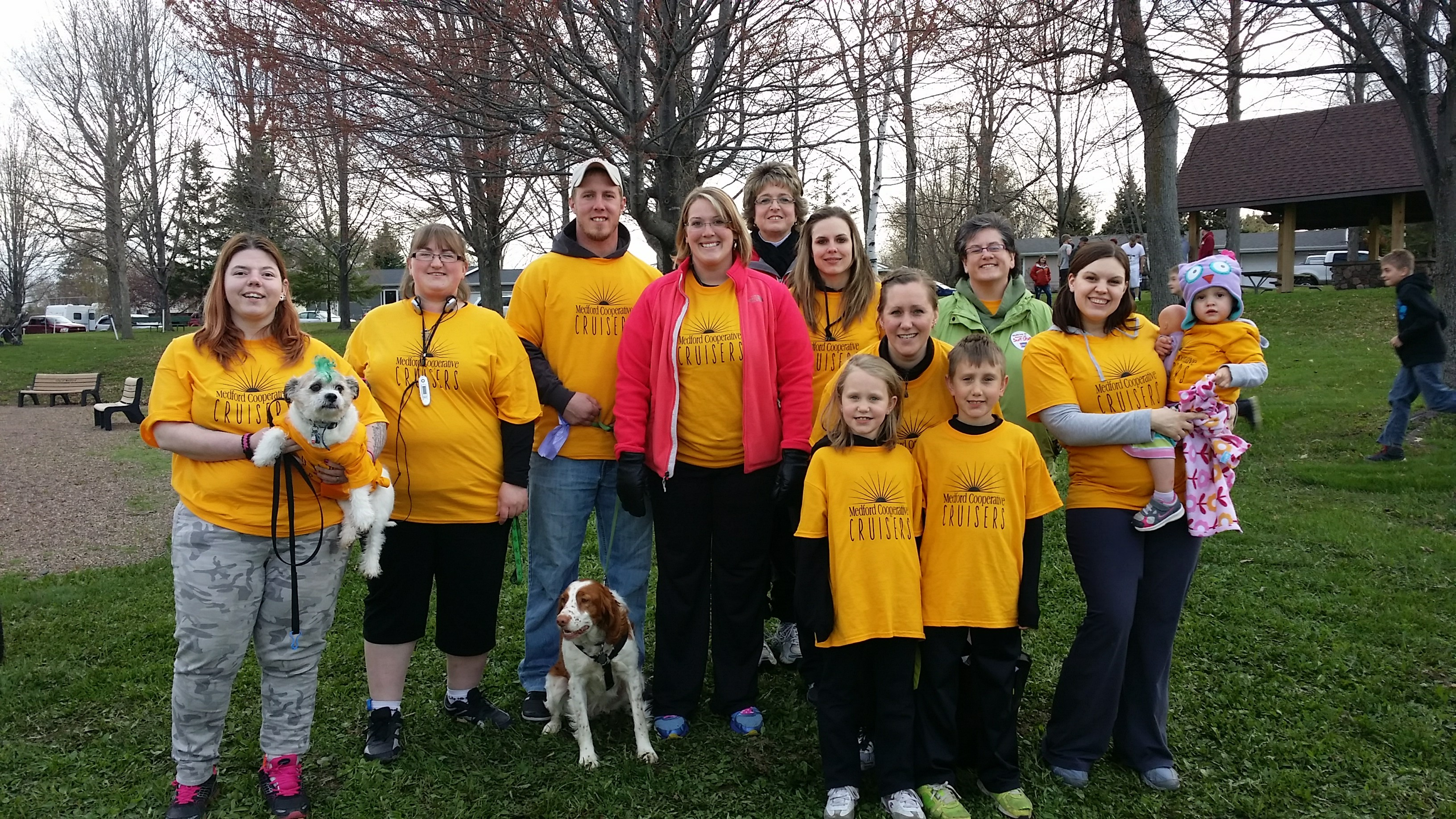 We Donated $837 to the American Cancer Society Walk/Run