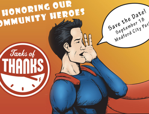 Tanks of Thanks Recipients Selected!